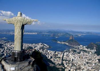 Die Christusstatue über Rio de Janeiro