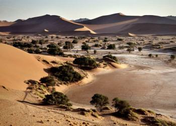 Die Sanddünen am Sossusvlei in Namibia