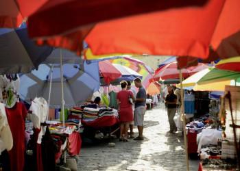 Marktszene in Oaxaca