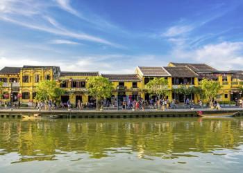 Kaufmannshäuser in der Altstadt von Hoi An