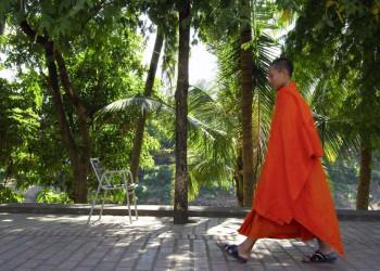 Buddhistischer Mönch in Laos
