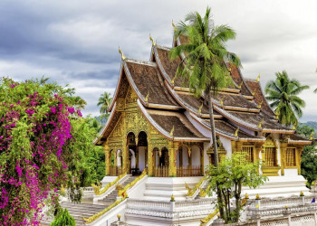 Tempel Wat Xieng Thong in Luang Prabang