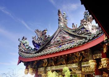 Tempel in Georgetown auf der Insel Penang