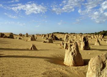 Naturwunder Pinnacles im Nambung-Nationalpark in Westaustralien