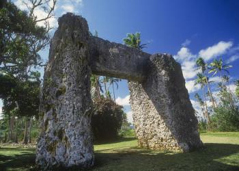 Das Steintor Trilith Ha 'amonga 'a Maui auf Tonga