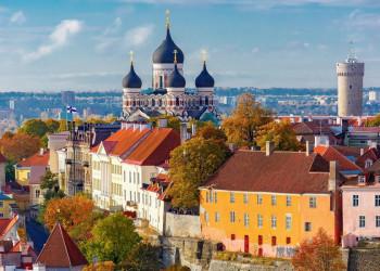 Einmal auch Citylife: in der Hauptstadt Tallinn