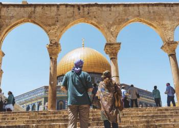 Der Felsendom in Jerusalem mit seiner goldenen Kuppel