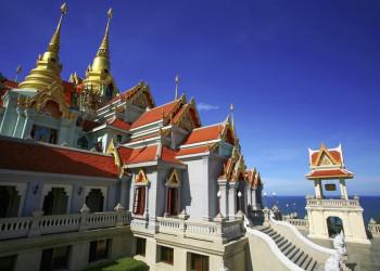 Der nächste Tempel ist in Thailand nie weit