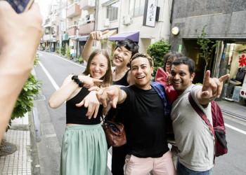 Traveller unter sich - Tokio ist absolut hip