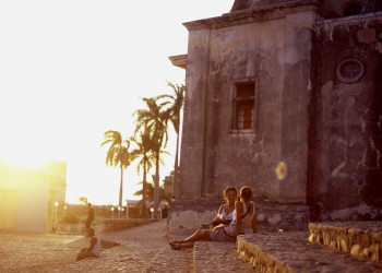 Trinidad bei Sonnenuntergang