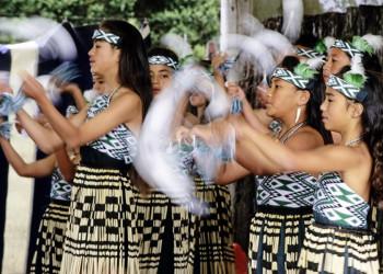 Beeindruckend: zu Gast bei den Maori