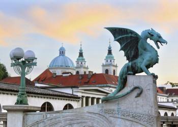 Jeder Stadt Ihr Maskottchen - Reisebeginn in Ljubljana