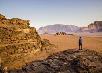 Die beeindruckende Landschaft des Wadi Ram in Jordanien