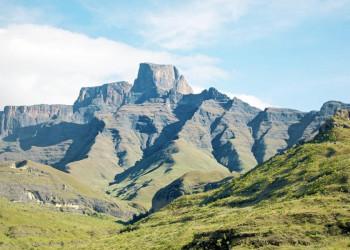 Die beeindruckenden Felsformationen der Drakensberge