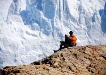 Blick auf die Gletscherwand: Gletscher Perito Moreno