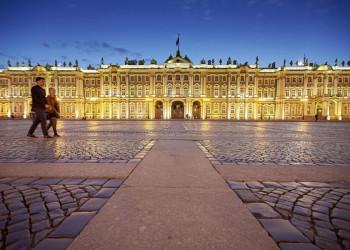 Der Winterpalast in St. Petersburg