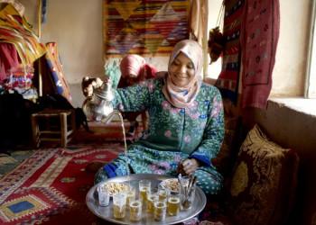 Teestunde in Marokko
