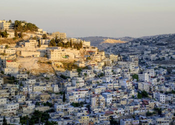 Abendstimmung am Rand von Jerusalem