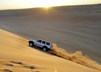 Ausflug per Jeep in die Wahiba Sands