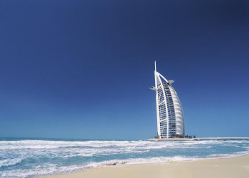 Das Hotel Burj al Arab in Dubai