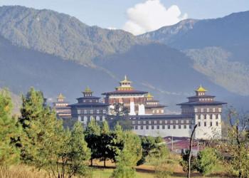 DerTashichho-Dzong in Thimphu