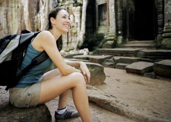 Der Ta-Prohm-Tempel in Angkor