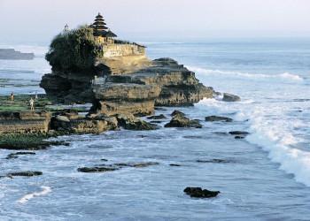 Der Tempel Tanah Lot auf Bali