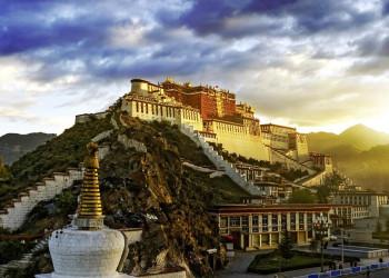 Ein erhabener Anblick - der Potala in Lhasa