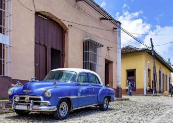 Oldtimer gehören zu Kuba wie Rum und Zigarren