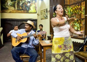 Livemusik in einer kubanischen Bar