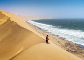 Sandwich Harbour in Namibia