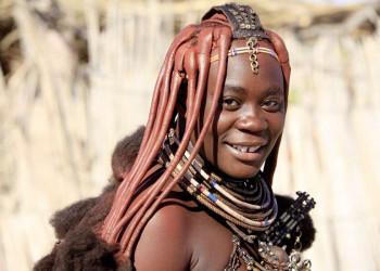 Himba-Frau in Namibia