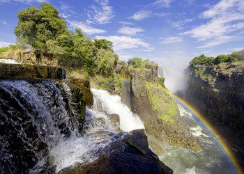 Die beeindruckenden Viktoriafälle in Simbabwe