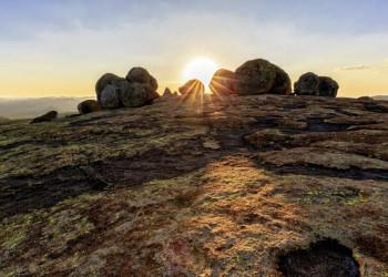 Die atemberaubende Felslandschaft im Matobo-Hills-Nationalpark