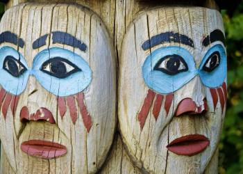 Totempfahl in Alaska