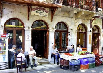 Griechisches Lebensgefühl in einer Taverne