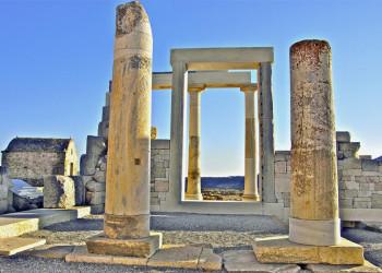 Der Apollotempel auf Naxos