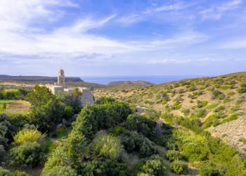 Das einsam gelegene Kloster Toplou auf Kreta