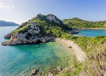 Korfus spektakuläre Küsten