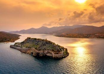 Die Insel Spinalonga auf Kreta
