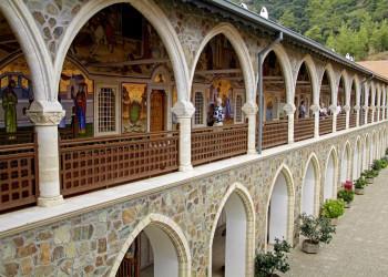 Das Kykkos-Kloster im Troodosgebirge