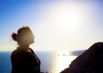 Abendstimmung vor der Küste von Zypern