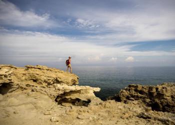 Wandern an der spektakulären Küste von Zypern