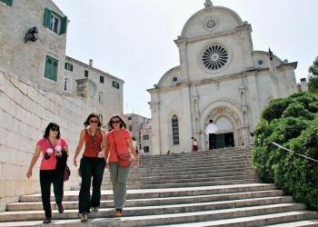 Die Kathedrale des Heiligen Jakob in Sibenik
