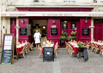 Kleines Restaurant in der Altstadt von Bordeaux