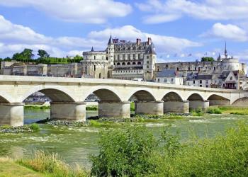 Das Schloss von Amboise an der Loire