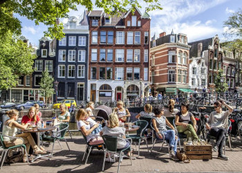 Nachmittagsstimmung in Amsterdam