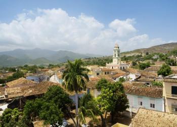 Blick auf die Altstadt von Trinidad in Kuba
