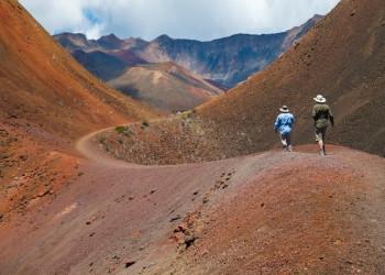 Der Haleakala-Nationalpark auf Maui