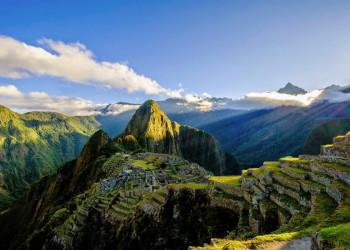 Ausblick auf das sagenumwobene Machu Picchu